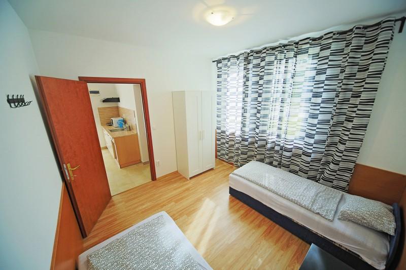 4 fős apartman háló