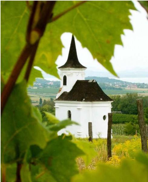 Környék - Boglári szőlőhegyi kápolna