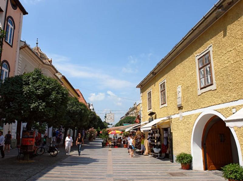 Környék - Keszthely sétáló utca